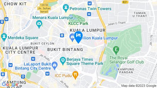 Pavilion Hotel Kuala Lumpur Managed by Banyan Tree Map