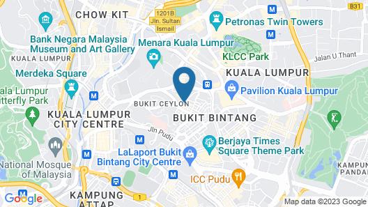 Ramada Suites by Wyndham Kuala Lumpur City Centre Map