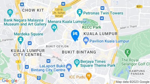 Hotel Istana Kuala Lumpur City Center Map