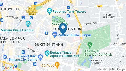 Royale Chulan Kuala Lumpur Map