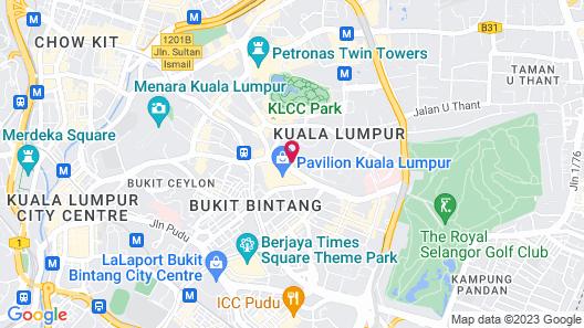 Banyan Tree Kuala Lumpur Map