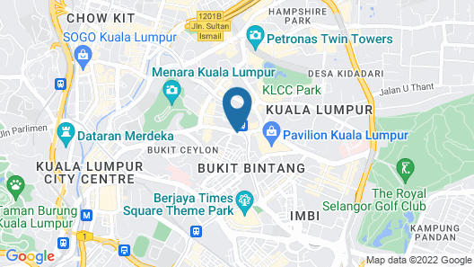 Istana Kuala Lumpur Map