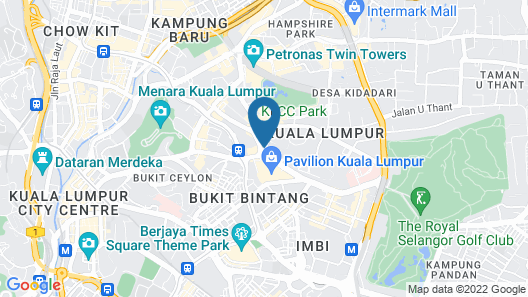 Novotel Kuala Lumpur City Centre Map