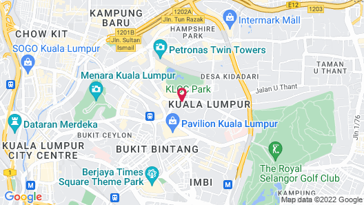 The RuMa Hotel and Residences Map