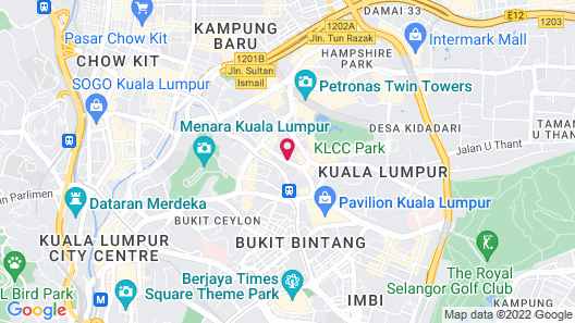 Soho Suites @ KLCC by Luxury Suites Asia Map