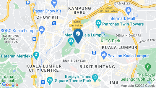 Oasia Suites Kuala Lumpur Map