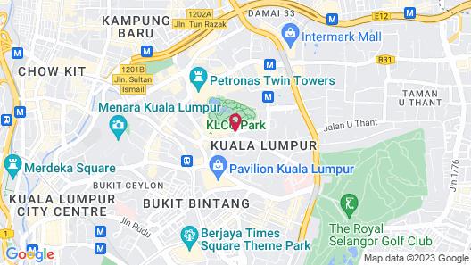 Traders Hotel Kuala Lumpur Map