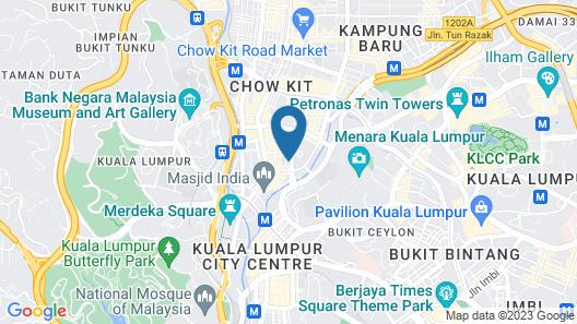 Silka Maytower Kuala Lumpur Map