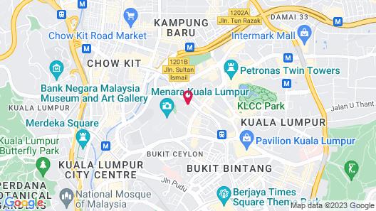 Shangri-La Hotel - Kuala Lumpur Map