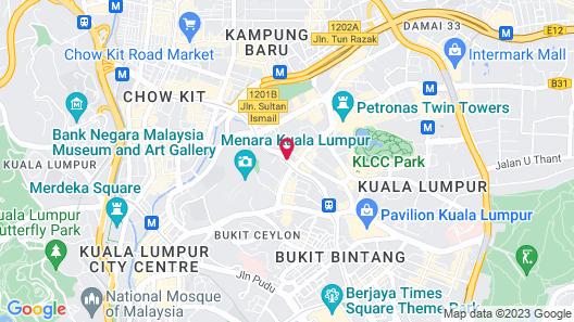 Vortex KLCC by Luxury Suites Asia Map