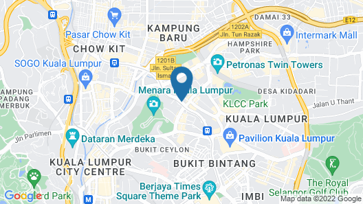 The Penthouse KLCC Map
