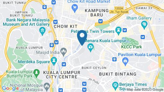 Flora by Crossroads Hotel Map