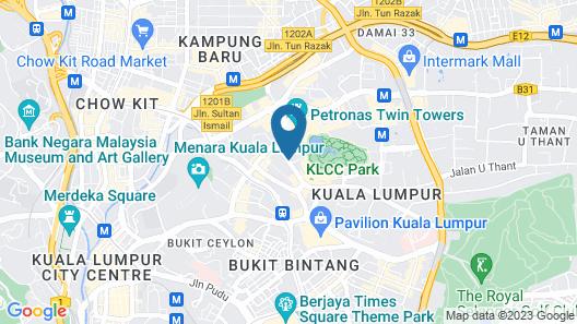 Ascott Kuala Lumpur Map