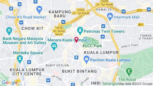 Impiana KLCC Hotel Map