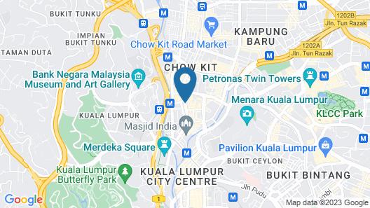 Canary Hotel Map