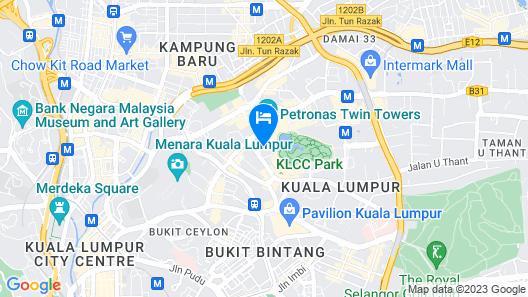 Mandarin Oriental Kuala Lumpur Map