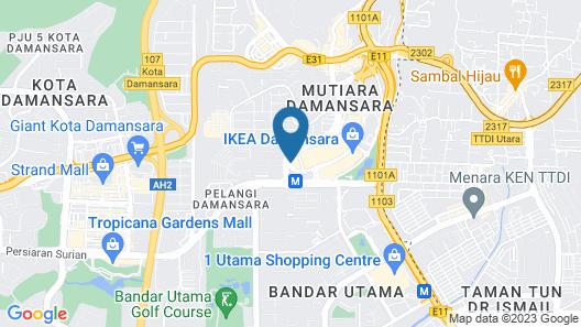 Royale Chulan Damansara Map
