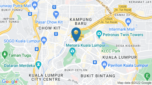 Renaissance Kuala Lumpur Hotel Map