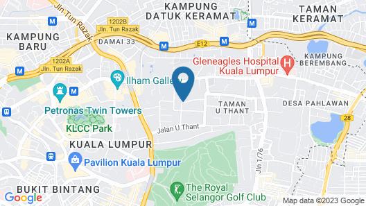 Villa Samadhi Kuala Lumpur Map