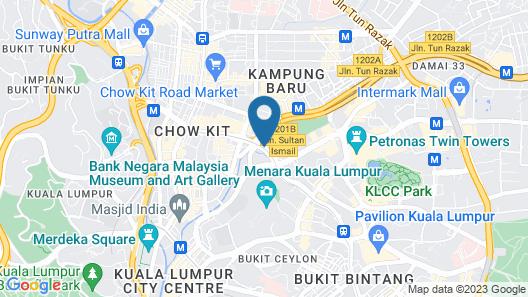 Luxury Platinum Suites KLCC By 7Stone Map