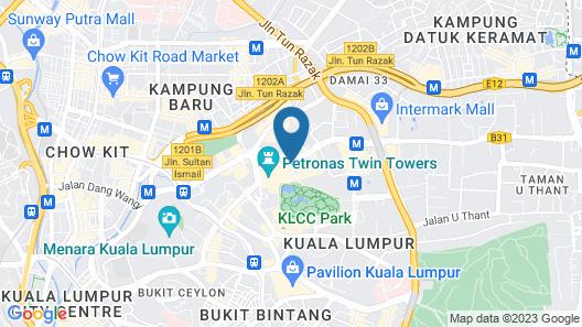 Four Seasons Hotel Kuala Lumpur Map