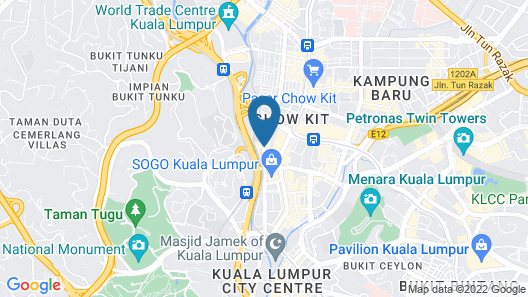 Summit Hotel KL City Centre Map