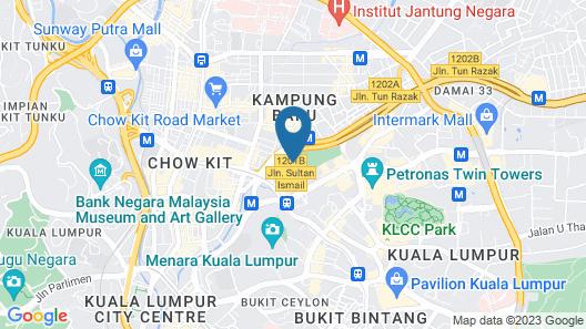 Fraser Residence Kuala Lumpur Map