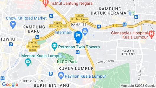 Element Kuala Lumpur by Westin Map