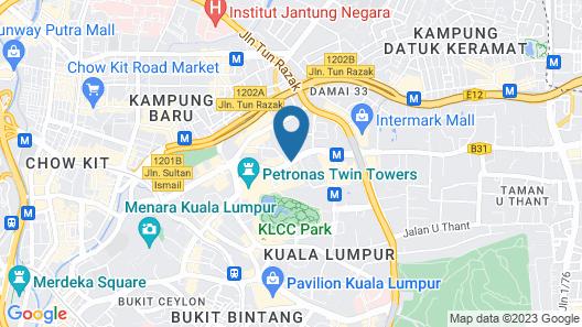 de King Boutique Hotel KLCC Map