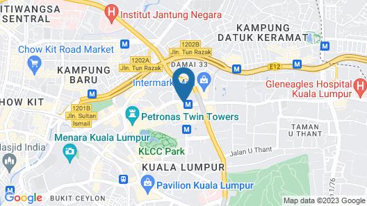 InterContinental Kuala Lumpur, an IHG Hotel Map