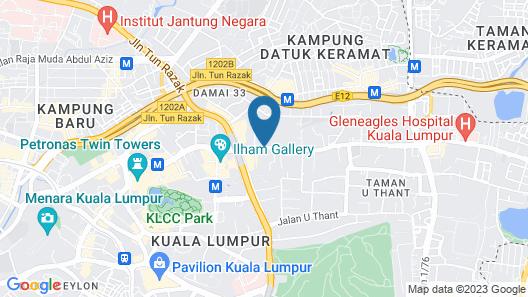 Somerset Kuala Lumpur Map