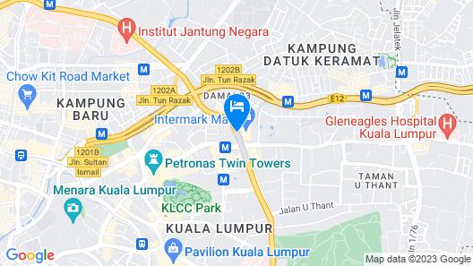 DoubleTree by Hilton Hotel Kuala Lumpur Map
