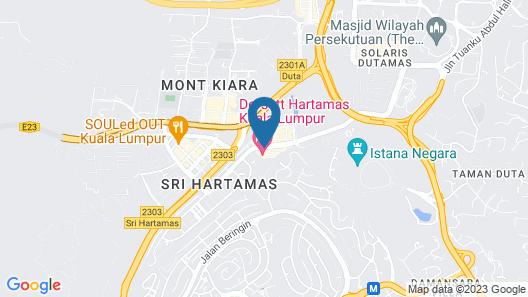 Dorsett Hartamas Kuala Lumpur Map