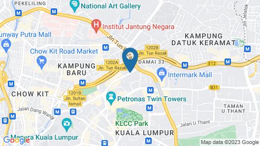 Ibis Kuala Lumpur City Centre Hotel Map