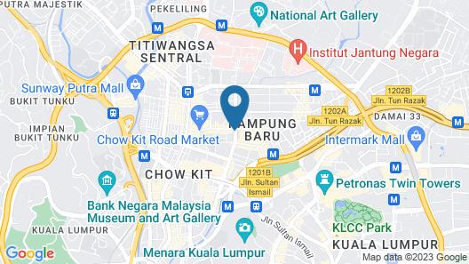 TAMU Hotel & Suites Kuala Lumpur Map