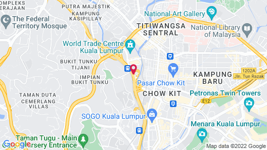 Best KL City View at Regalia Residence Map