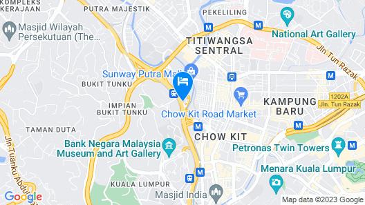 Regalia Suites & Hotel Map