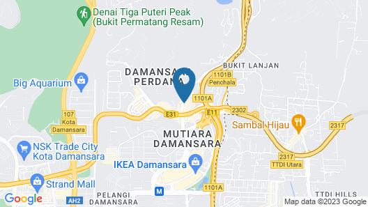 alia damansara by Subhome Map