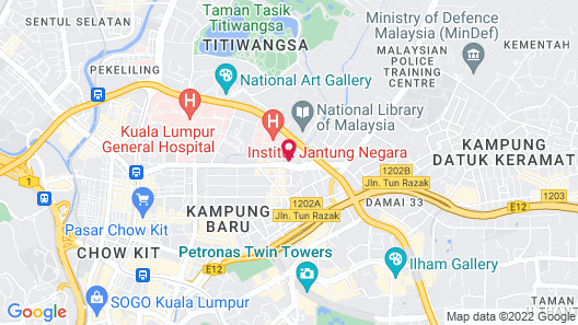 Cozy Homestay With KLCC Twin Tower View Map
