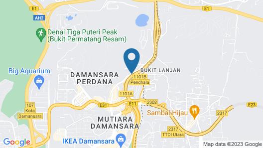 Skylivia Empire Damansara Map