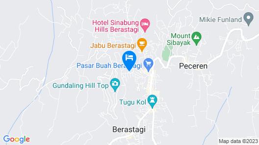 OYO 581 Serdika Pavilion Map