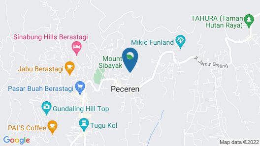 Hotel Kalang Ulu Map