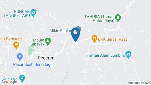 Sunroom Villa Bukit Mas Map