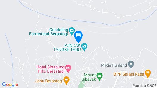 Penginapan Puncak DP Map