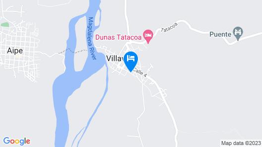 Tubo Hotel La Tatacoa Map