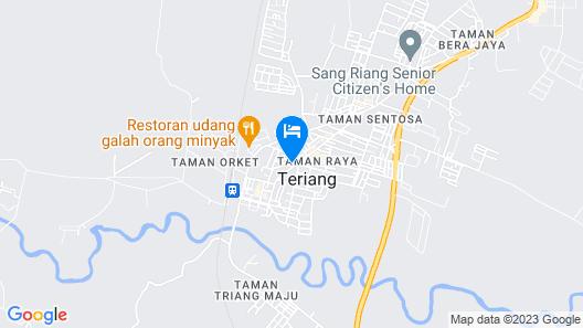 OYO 89877 Sun Triang Hotel Map