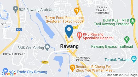 New Rawang Hotel Map