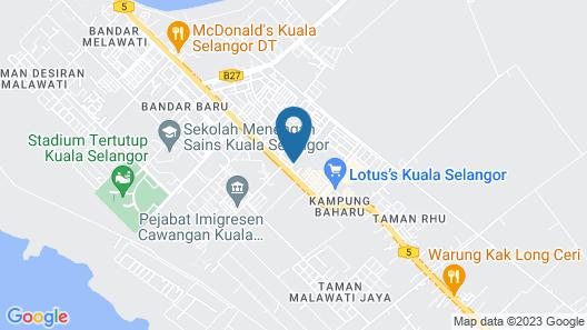 Sun Inns Hotel Pasir Penambang (KS Botanic) Map