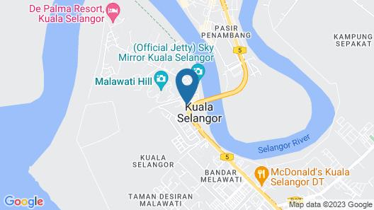 OYO 988 Malawati Ria Hotel Map