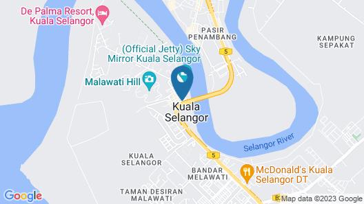 Kuala Selangor Boutique Hotel Map